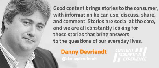 Danny Devriendt on storytelling