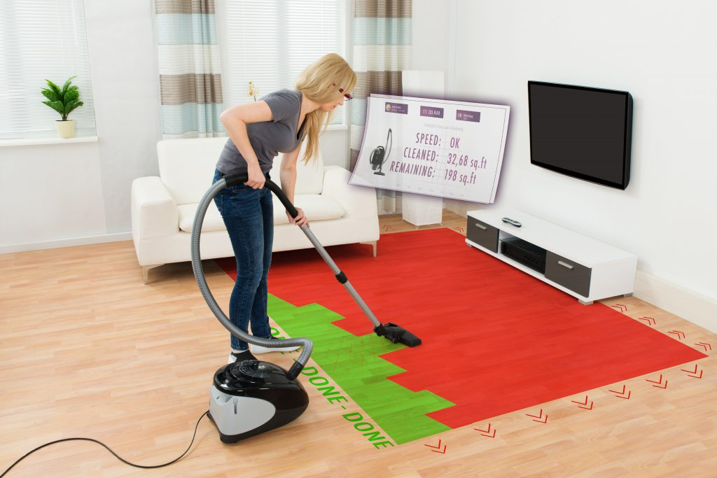 Tech Trends VR Tech Mixed Reality Cleaning