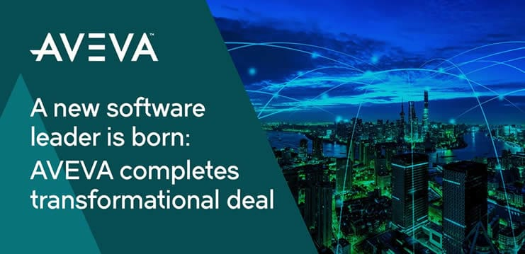 AVEVA Schneider Electric industrial software merger completion