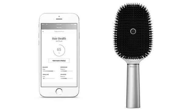 Announced at CES2017 - the first-ever smart hairbrush - source