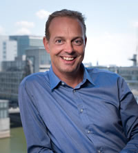 Bernd Gross - CEO of Cumulocity and since the 2017 acquisition by Software AG Senior Vice President IoT and Cloud Software AG - picture source and courtesy Software AG