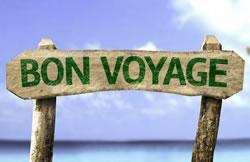 Bon voyage - make it a great journey