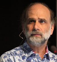 Bruce Schneier - Photograph by Rama, Wikimedia Commons, Cc-by-sa-2.0-fr