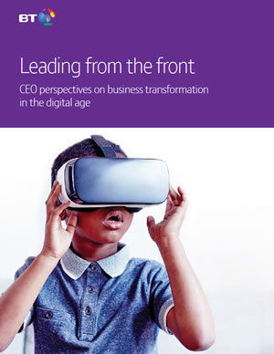 CEO perspectives in business transformation in the digital age - read more here and get the PDF here