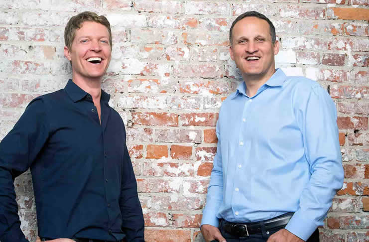 Christian Chabot (left) and Adam Selipsky (right) - respectively Chairman of the Board and CEO of Tableau Software