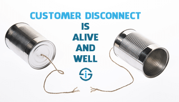 Customer disconnect