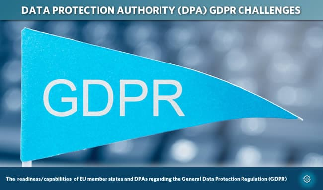 Data protection authority DPA GDPR challenges