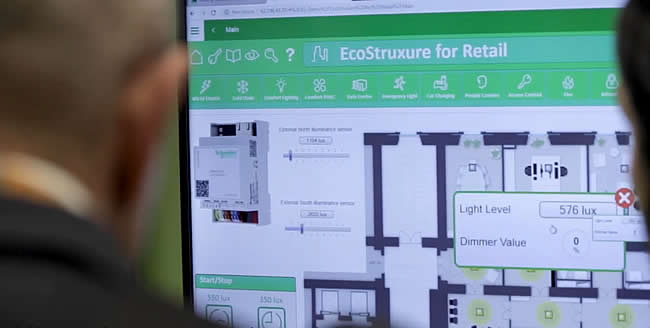 Demo EcoStruxre for Retail - more information here