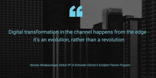 Digital transformation and the convergence of IT and OT - transformation happens from the edge and is an evolution rather than a revolution says Nicolas Windpassinger of EcoXpert