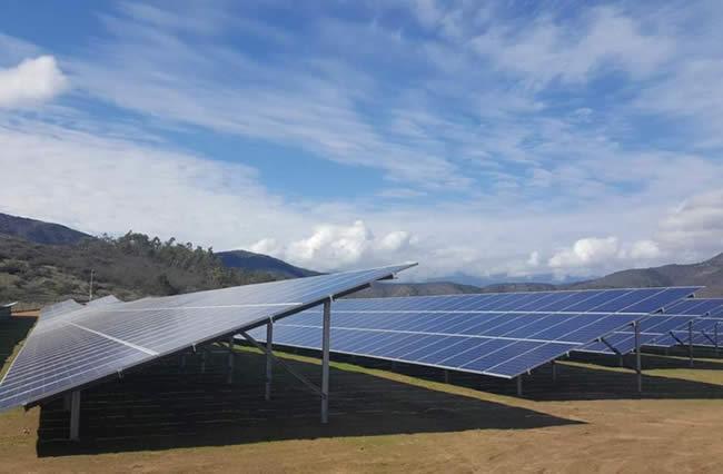 The 40 MWp Doña Carmen solar farm in La Ligua, in the Valparaiso region of central Chile