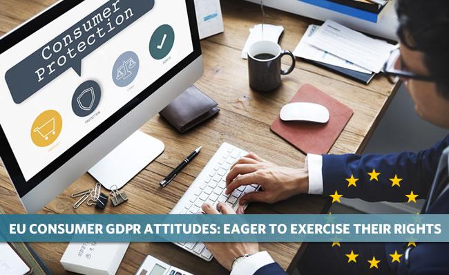 EU consumer GDPR attitudes - eager to exercise their rights