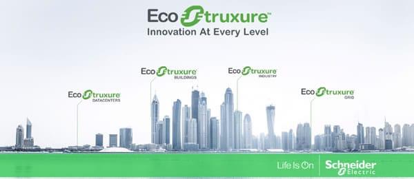 EcoStruxure – image Twitter – courtesy Schneider Electric
