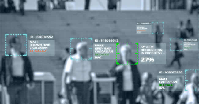 Facial recognition surveillance