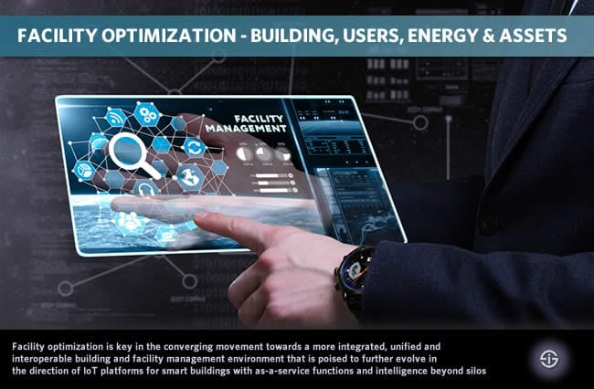 Facility optimization - connecting building users energy facility managers building owners and asset optimization in smart buildings