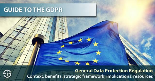 GDPR General Data Protection Regulation EU Guide