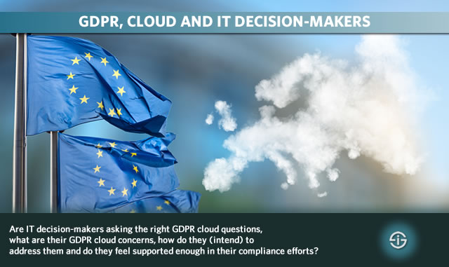 GDPR cloud and IT decision-makers