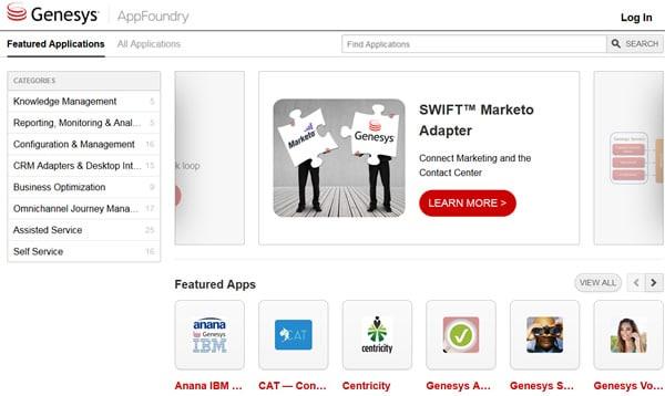 Genesys AppFoundry