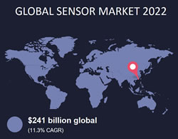 Global sensor market – more in the infographic below