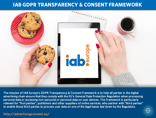 IAB GDPR transparency and consent framework ePrivacy