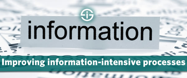 Improving information-intensive processes