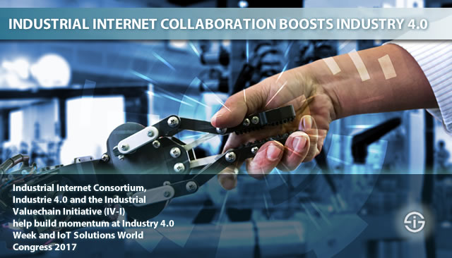 Industrial Internet associations boost Industry 4.0 - also at IoT Solutions World congress 2017 and Industry 4.0 Week 2017 in Barcelona