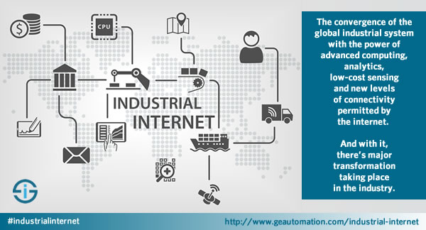 Industrial Internet definition by GE Automation