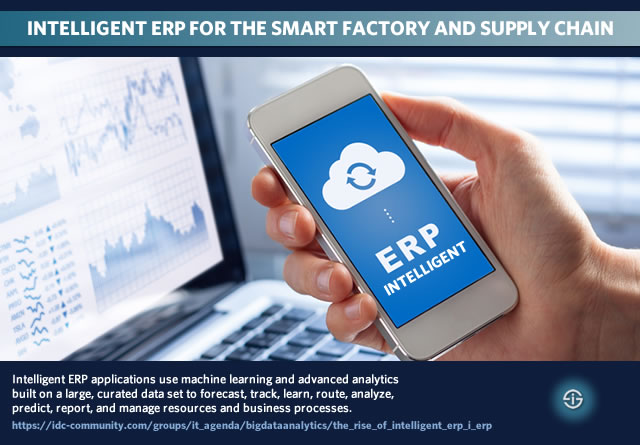 Intelligent ERP for the smart factory and supply chain