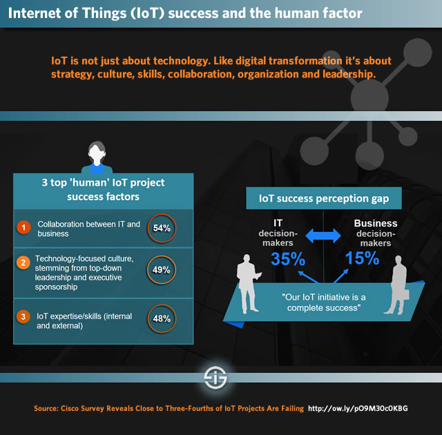 Internet of Things success and the human factor - the need for alignment expertise and culture - source