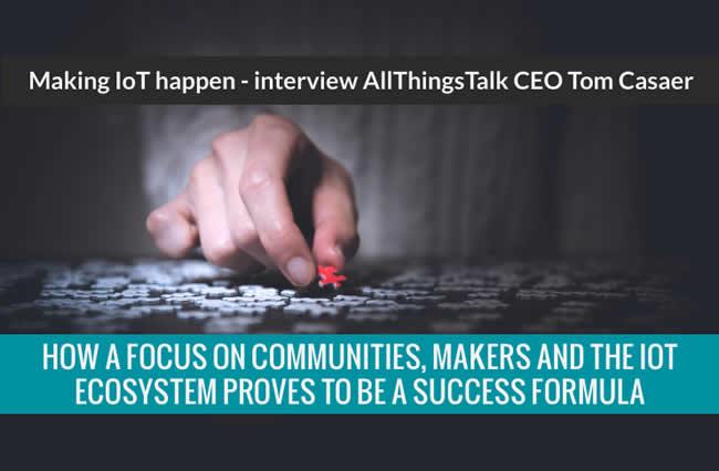 Interview AllThingsTalk - making IoT happen