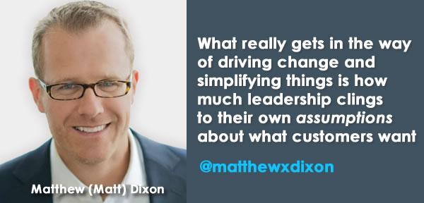 Interview quote Matthew Dixon - CEB