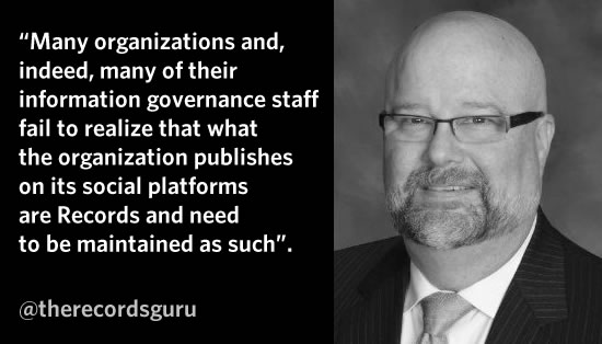 Interview quote Robin Woolen information governance