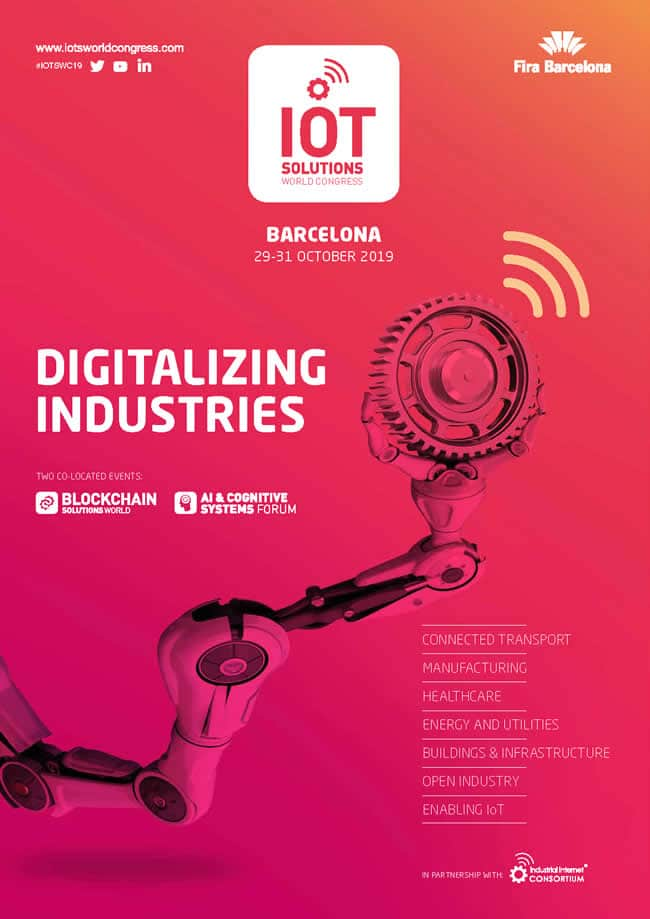 IoT Solutions World Congress 2019 - digitalizing industries