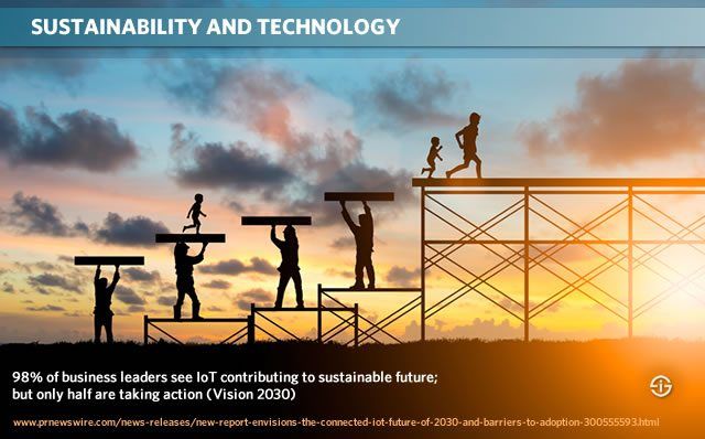 IoT and sustainability Vision 2030 report
