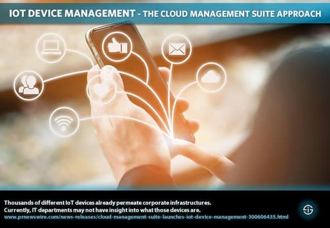 IoT device management - the Cloud Management Suite approach
