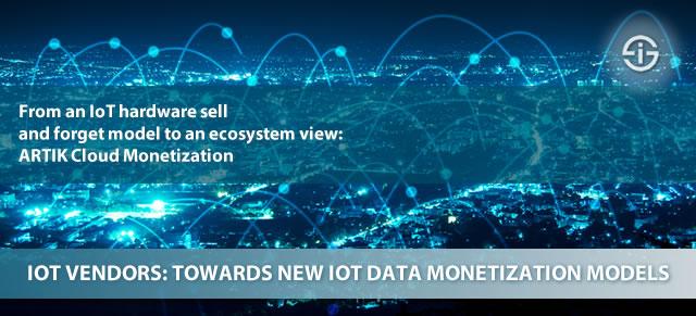 IoT vendors towards new IoT data monetization models