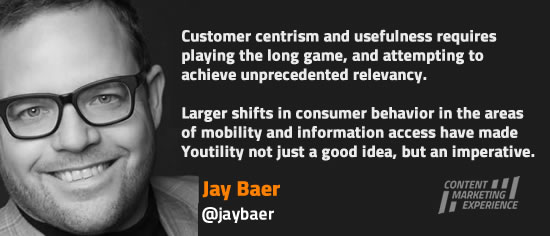 Jay Baer on customer-centrism and Youtility - read the whole interview