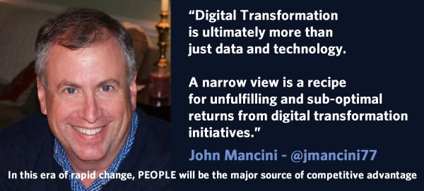 John Mancini on the people dimension in digital transformation