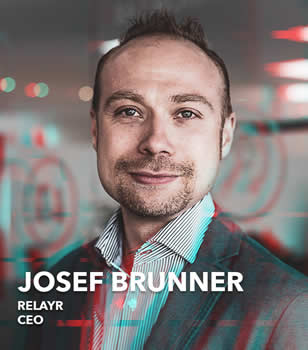Josef Brunner, chief executive officer of relayr: The unique combination of the companies demonstrates the importance to deliver business outcomes to customers and the need to combine first-class technology and its delivery with powerful financial and insurance offerings (source picture and courtesy: relayr on Twitter)