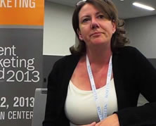 Kelly Hungerford at Content Marketing World 2013