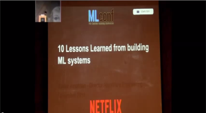 Lessons Learned from Building Machine Learning Systems