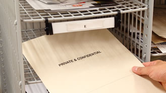 Mailroom concept