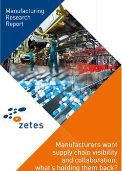 Manufacturing Research Report by zetes - manufacturers want supply visibility and collaboration - what is holding them back - download the full report