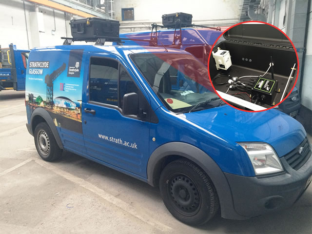 Mobile air quality system integrated in vans – source Libelium