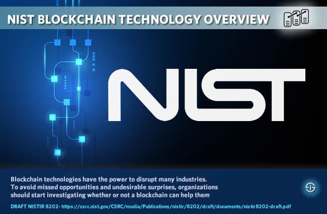 NIST blockchain technology overview - Nist Blockchain Technology Overview NISTIR 8202 draft