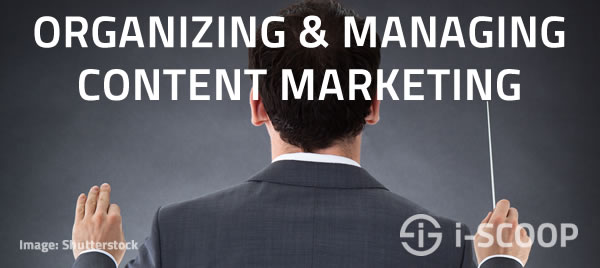 Organizing and managing content marketing