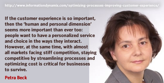 Petra Beck on the human element and process optimization - both go hand in hand