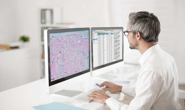 Philips has deployed its digital pathology solution in several hospitals across Belgium with positive results says Frank Dendas - picture: the Philips IntelliSite Pathology Solution, courtesy Philips