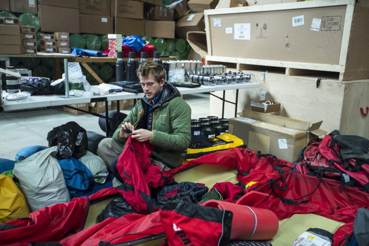Polar Exploration Antarctic Trek Challenge
