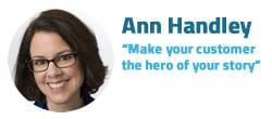 Quote Ann Handley i-SCOOP