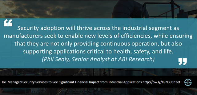 Quote Phil Sealy ABI Research IoT Managed Security Services research 2017